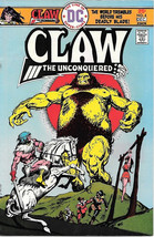 Claw The Unconquered Comic Book #4, DC Comics 1975 VERY FINE - $3.99