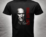 Clint Eastwood legend cowboy of movie Mens Black T-Shirt S-2XL Hot