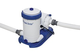 Bestway 58392E Flowclear 2,500 Pool Filter Pump, One Size, White