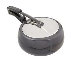 Hawkins CB35 Hard Anodised Pressure Cooker, 3.5-Liter, Contura Black - £56.28 GBP