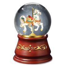 Heritage Rotating Single Horse Water Globe by The San Francisco Music Bo... - $69.17