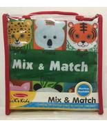 Melissa & Doug Mix and Match Cloth Book - $16.78