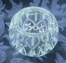 Vintage Candle Holder Votive Homco Clear Beautiful small candle holder - $9.49