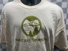NATURALLY OPTIMISTIC Nature Outdoor Hiking T-Shirt Size 2XL NEW - $12.22