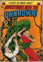 Adventures Into The Unknown Comic Book #32, ACG 1952 FINE+ - $94.74