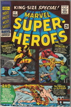 Marvel Super-Heroes King-Size Special Comic Book #1 Marvel Comics 1966 VERY FN+ - $120.86