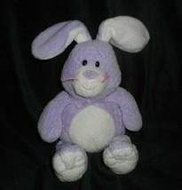 Ty Pluffies Twitches Purple & White Bunny Rabbit Stuffed Animal Plush Toy 2006 - $18.70