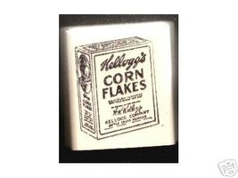 Kellogg's Corn Flakes Vintage box cereal rubber stamp - $9.99