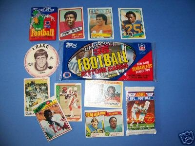 Wholesale LOT Football 70's-1992 over 1,100 cards