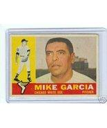 1960 Topps Baseball Card Mike Garcia #532 White Sox - $18.66