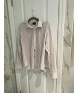 UNTUCKit Shirt Men's Button Down M Slim Fit Plaid Red Blue 100% Cotton - $23.33