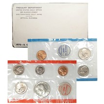 1970 P & D US Mint Set United States Original Government Packaging Box C... - $22.99