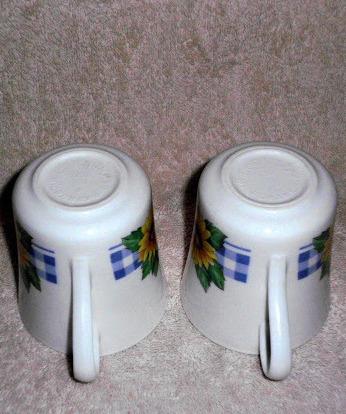 Corelle Sunflower Mug Corning Ware Set 2 Coffee Tea