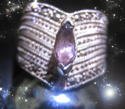 HAUNTED RING QUEEN WITCH HAVE THE MOST PLEASURE LUCXURT MAGICK OOAK MAGICK - $9,997.77