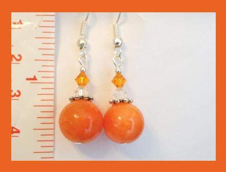Gemstone & Swarovski Crystal Earrings