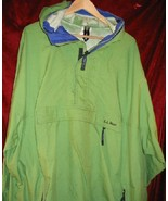 Green LL Bean Pullover Windbreaker Jacket Shirt 2XL XXL - $10.00