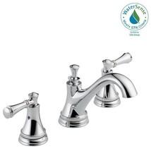 """Delta 35713LF-ECO Silverton 8"""" Widespread 2-Handle Bathroom Faucet Chrome - $126.21"""
