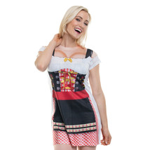 Faux Real Oktoberfest Birra Tedesco Abito Adulto Donna Halloween Costume... - $31.65