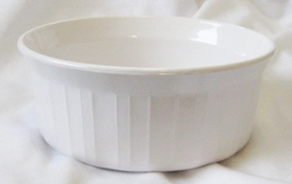 Corningware French White Bakeware Individual Casserole Dish F-16-B  - $32.14