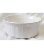 Corningware French White Bakeware Individual Casserole Dish F-16-B  - $19.99