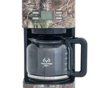 Magic Chef 12-Cup Drip Coffee Maker with Authentic Realtree Xtra Camouflage Patt