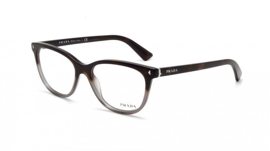 256396d12fdf Prada VPR 14R TKT-1O1 Dark Havana New Authentic Eyeglasses 52mm - 140