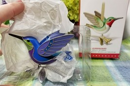 Hallmark 2015 KOC Event Hummingbird Repaint Ornament Beauty of Birds - $88.85