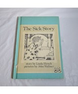 Vintage The Sick Story by Linda Hirsch Weekly Reader Hardcover Book - $4.94
