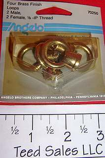 Westinghouse Angelo Lighting 70250 Brass Hoops for Lamps