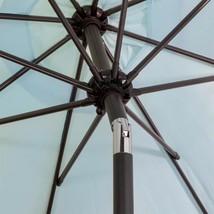 9 ft. Steel Outdoor Market Patio Umbrella in Blue - $70.00
