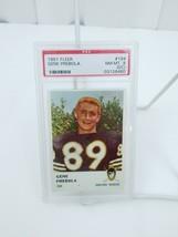 1961 Fleer Gene Prebola Football Card # 194 PSA 8 Oakland Raiders AFL Gr... - $17.41
