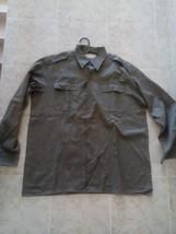 Yugoslav Army JNA M-77 olive grey soldier shirt - EU size 45 - $49.99
