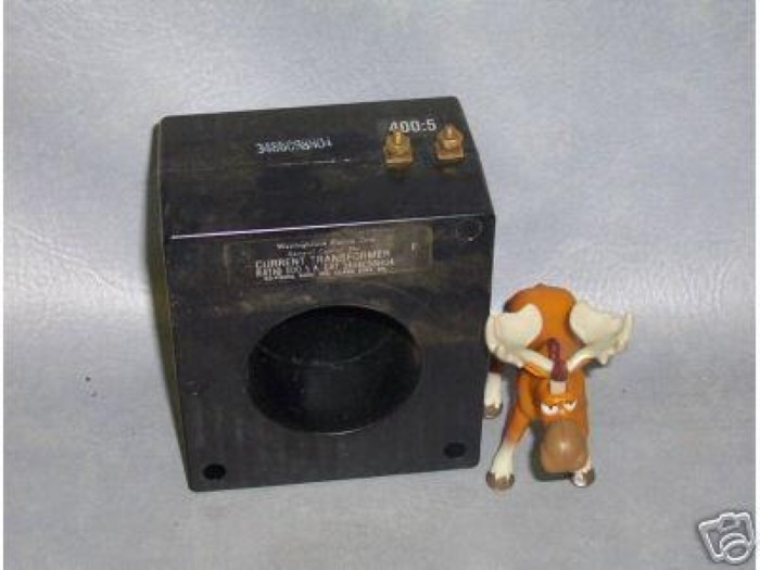 Primary image for 3486C98H04 Westinghouse Current Transformer 400:5 3486C98H0409
