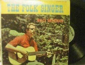 Billy Sherman - The Folk Singer - Crown CST 322