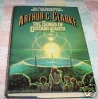 THE SONGS of DISTANT EARTH by Arthur C. Clarke HBDJ