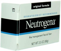 (Pack of 6) Neutrogena Transparent Scented Facial Soap Orig/Formula 3.5 Oz - NEW - $22.49
