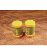 St. Labre Indian School Plastic Drum Salt and Pepper Shakers, Ashland Mo... - $6.50