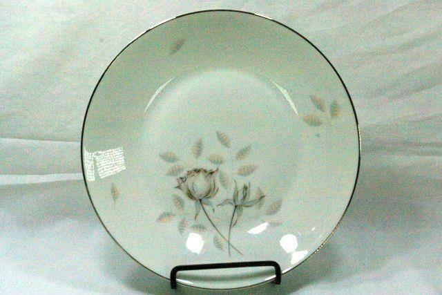 Primary image for Rosenthal Continental Bettina Gray Rose Soup Bowl