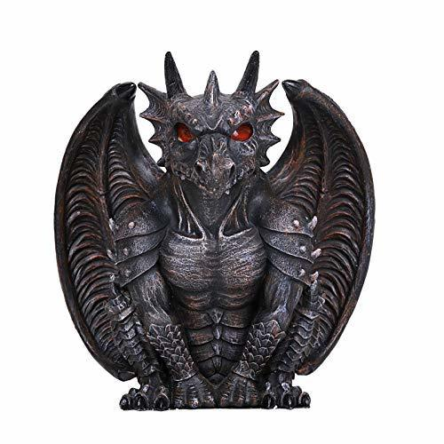 Pacific Giftware 7 Inches Winged Guardian Dragon Candle Holder - $29.99