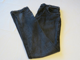 "Boys Hurley pants EUC 20 32"" 79 Slim denim jeans cotton black skate surf... - $21.26"