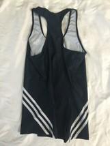 NWOT Adidas Black White Women USA Tank Top Climalite Small Running Yoga Workout image 2
