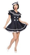 Sexy Roma Sailor Pin-Up Captain Halloween Costume W/WO PETTICOAT XS-XXL ... - $70.00+