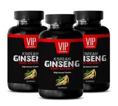enhancing pills - KOREAN GINSENG 350MG - immune support booster - 3 Bottles - $33.62