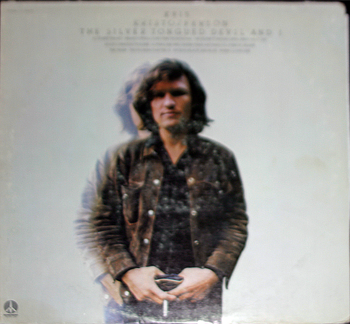 "Kris Kristofferson ""Silver Tongued Devil & I""    LP"