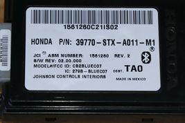 07 08 09 ACURA MDX Bluetooth Communication Control Module Link 39770-STX-A011M1 image 5
