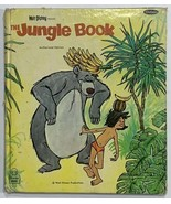 VTG Old 1967 Children's Tell-a-Tale Book Walt Disney's The Jungle Book W... - $12.69