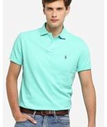 Polo Ralph Lauren Men's Mesh Polo Shirt Aqua size NWT 4XLT - $37.16
