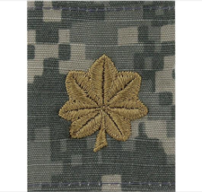 Genuine U.S. Army Gortex Tab Rank: Major (O-4) - Acu Jacket - $9.88