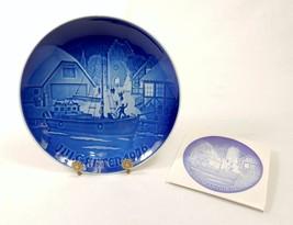 Bing & Grondahl Collector's Plate, Danish Christmas, Jule-Aften 1976, ~ ... - $19.55
