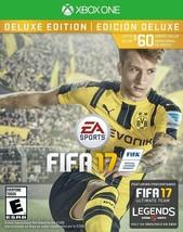 FIFA 17: Deluxe Edition Microsoft Xbox One 2016 EA Sports Soccer Futbol - $8.99